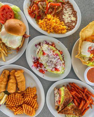 You're looking at breakfast 😋  And lunch…and leftovers 🥳  From fajita plates to fish and chips - we've got all the food. . . .  . . . #newport #cappys #instafood #foodstagram #eeeeeats #landscape #breakfast #breakfastfood #discoverunder5k #salad #yelpoc #orangecounty #tryitordiet #foodfeed #fajita #eggs #cheers #cheatday #chowtime #foodiegrams #foodstagram #eeeeeats #pch #discoverunder5k #drinkstagram #hb #views #newportbeach #costamesa #irvine